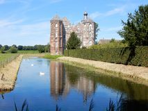 Castle Croy, Mansion with moat,  Aarle-Rixtel, Laarbeek, Netherland Royalty Free Stock Images