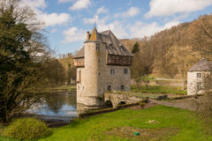 Castle Crupet, Βέλγιο Στοκ φωτογραφία με δικαίωμα ελεύθερης χρήσης