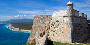 Castle, Cuba Royalty Free Stock Photography