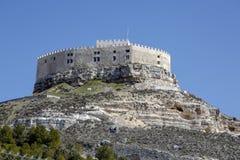 Castle of Curiel de Duero, Valladolid Spain. Royalty Free Stock Photo