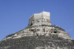 Castle of Curiel de Duero, Valladolid Spain. Royalty Free Stock Images