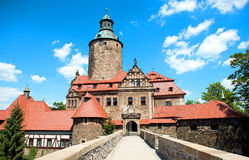 Castle Czocha in Poland, Lower Silesia Stock Photography