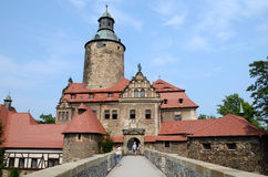 Castle Czocha in Poland Stock Photography