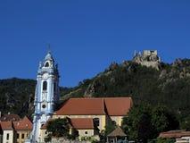 Castle of Dürnstein Stock Image