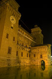 Castle d'Este in Ferrara Royalty Free Stock Image