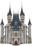 Castle - 3D render Stock Image