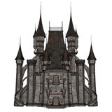 Castle - 3D render Royalty Free Stock Images
