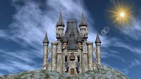 Castle - 3D render Stock Photo