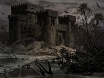 Castle of The Damned Stock Images