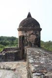 castle de福纳多omoa圣 库存照片