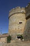 Castle de Grajal de Campos, en Leon, España fotografía de archivo libre de regalías