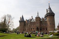 Castle DE Haar Stock Afbeeldingen