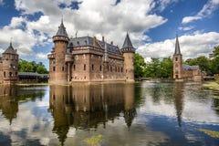 Castle DE Haar Royalty-vrije Stock Afbeeldingen