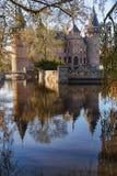 The castle De Haar with its park in autumn colors. Stock Images