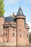 Castle de Haar/Kasteel de Haar Στοκ Εικόνες