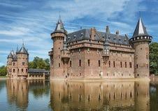 Castle De Haar located in Haarzuilens, The Netherlands. Stock Image