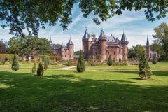 Castle De Haar located in Haarzuilens, The Netherlands. Royalty Free Stock Images