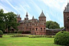 Castle DE Haar, Nederland Stock Foto's