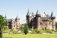Fairytale Castle de Haar Nederland Royalty Free Stock Photography