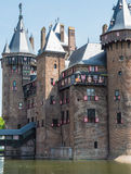 Castle De Haar, The Netherlands, decorated with coats of arms Royalty Free Stock Photography