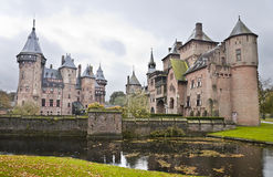 Castle De Haar in Netherlands Stock Photo