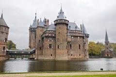 Castle De Haar in Netherlands Royalty Free Stock Photography