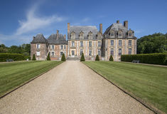 Castle of of de la Ferte Saint-Aubin Stock Photo