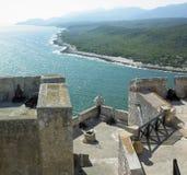 castle de la pedro roca圣 免版税库存照片