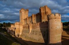 Castle de Mota en Médina del Campo, Valladolid, Espagne photo libre de droits