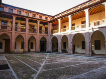 Castle DE Mota in Medina del Campo, Valladolid, Spanje Stock Afbeelding