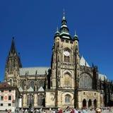 Castle de Praga de presidente Fotografía de archivo