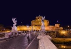Castle de Sant Angelo στη Ρώμη Ιταλία Στοκ Εικόνες