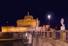 Castle de Sant Angelo στη Ρώμη Ιταλία Στοκ φωτογραφία με δικαίωμα ελεύθερης χρήσης