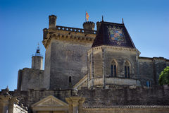 Castle de Uzes Royalty Free Stock Photo