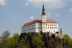 Castle Decin, Czech republic Royalty Free Stock Images