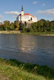 Castle Decin, Czech republic Royalty Free Stock Photo