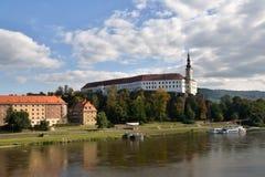 Castle Decin, Czech republic Stock Image