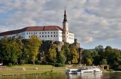 Castle Decin, Czech republic Stock Photos