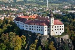 Castle Decin, Czech republic Royalty Free Stock Photos