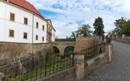 Castle Decin Stock Image