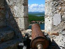 Castle del Morro,圣地亚哥 图库摄影