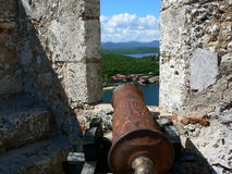 Castle del Morro, Santiago de Cuba Stock Photography
