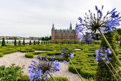 Castle of Denmark Frederiksborg Stock Images