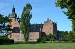 Castle denmark Royalty Free Stock Photos