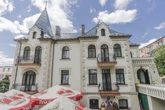 Castle Dersława Stock Photo