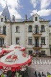 Castle Dersława Stock Images