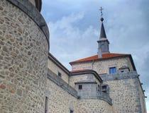 Castle di Villaviciosa de Odon fotografie stock libere da diritti