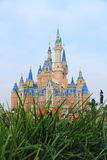 Castle at Disney World in shanghai Royalty Free Stock Photography
