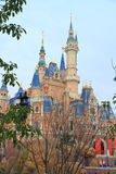 Castle at Disney World in shanghai Royalty Free Stock Image