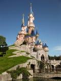 Castle Disneyland Παρίσι πριγκήπισσας Στοκ Εικόνες